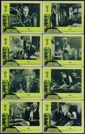 """Movie Posters:Horror, Frankenstein Created Woman (20th Century Fox, 1967). Lobby Card Set of 8 (11"""" X 14""""). Peter Cushing stars in this follow-up ... (Total: 8 Items)"""