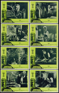 """Frankenstein Created Woman (20th Century Fox, 1967). Lobby Card Set of 8 (11"""" X 14""""). Peter Cushing stars in t..."""