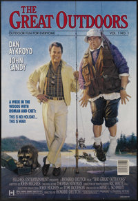 "The Great Outdoors (Universal, 1988). One Sheet (27"" X 41""). Dan Aykroyd treats John Candy to the vacation fro..."