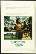 "Movie Posters:Adventure, Greystoke: The Legend of Tarzan, Lord of the Apes (Warner Brothers,1983). Poster (30"" X 40""). ""Half of me is the Earl of Gr..."