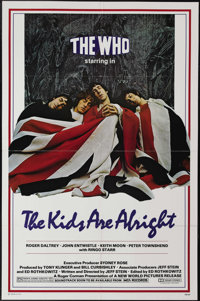 "The Kids Are Alright (New World Pictures, 1979). One Sheet (27"" X 41""). Starring Keith Moon, Roger Daltrey, Pe..."