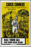 """Movie Posters:Western, Kill Them All and Come Back Alone (Fanfare, 1970). One Sheet (27"""" X 41""""). Enzo G. Castellari directs Chuck Connors and Frank..."""