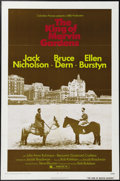 """Movie Posters:Crime, The King of Marvin Gardens (Columbia, 1972). One Sheet (27"""" X 41""""). Jack Nicholson, Bruce Dern and Ellen Burstyn star in thi..."""