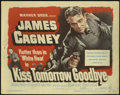 "Movie Posters:Crime, Kiss Tomorrow Goodbye (Warner Brothers, 1950). Title Lobby Card(11"" X 14""). James Cagney stars in this crime drama about a ..."
