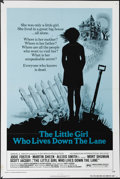 "Movie Posters:Mystery, The Little Girl Who Lives Down the Lane (AIP, 1976). One Sheet (27""X 41""). Jodie Foster is the title girl, who explains to ..."