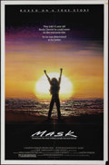 """Movie Posters:Drama, Mask (Universal, 1985). One Sheet (27"""" X 41""""). Eric Stoltz, Cher and Sam Elliott star in this stirring story of one boy's co..."""