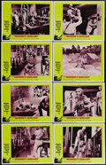 """Movie Posters:Horror, The Mummy's Shroud (20th Century Fox, 1967). Lobby Card Set of 8 (11"""" X 14""""). An archaeological expedition unearths a mummy ... (Total: 8 Items)"""