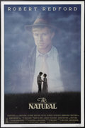 """Movie Posters:Sports, The Natural (TriStar, 1984). One Sheet (27"""" X 41""""). Robert Redford is Roy Hobbs, a mysterious drifter who comes out of nowhe..."""