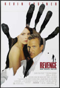 "Movie Posters:Action, Revenge (Columbia, 1990). One Sheet (27"" X 41""). Kevin Costner, Madeline Stowe and Anthony Quinn star in this action-packed ..."