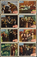 "Smuggler's Cove (Monogram, 1948). Lobby Card Set of 8 (11"" X 14""). Leo Gorcey stars along with Huntz Hall and..."