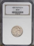 Buffalo Nickels: , 1938-D 5C MS67 NGC. NGC Census: (1427/10). PCGS Population(1120/6).Mintage: 7,020,000. Numismedia Wsl. Price: $223. (#3984...