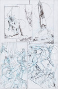 Original Comic Art:Miscellaneous, Dick Giordano The L.A.W. Living Assault Weapons #1 CompleteStory Preliminary Artwork Original Art, Full Script, a... (Total:29 Items)