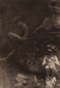 Photographs:Photogravure, Clarence Hudson White (American, 1871-1925). Pan, 1908.Photogravure. 7-1/2 x 5-3/4 inches (19.1 x 14.6 cm). ...