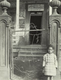 Photographs, Clarence John Laughlin (American, 1905-1985). The Disastrous Gate, 1945. Gelatin silver, printed later. 13-1/4 x 10-1/2 ...