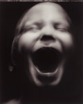 Photographs:Gelatin Silver, William Ropp (French, b. 1960). Untitled (child with mouth open). Gelatin silver. 16-1/2 x 13-1/4 inches (41.9 x 33.7 cm...