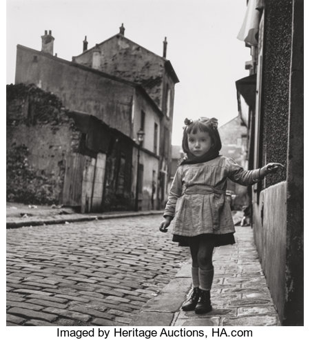 Jean-Philippe Charbonnier (French, 1921-2004)Aubervillier, 1952Gelatin silver, printed later9-1/2 x 9-1/4 inches (...