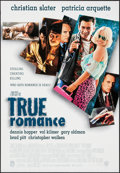"Movie Posters:Crime, True Romance & Others Lot (Warner Brothers, 1993). One Sheets(2) (26.5"" X 40"", 27"" X 40"") SS & Video Posters (2) (26.5"" X3... (Total: 4 Items)"