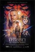 "Movie Posters:Science Fiction, Star Wars: Episode I - The Phantom Menace & Other Lot (20thCentury Fox, 1999). One Sheets (2) (26.75"" X 39.75"") DS Regular ...(Total: 2 Items)"