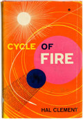 Books:Science Fiction & Fantasy, Hal Clement [pseudonym of Harry C. Stubbs]. INSCRIBED. Cycle of Fire. New York: Ballantine Books, [1957]....