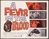 """A Fever in the Blood & Others Lot (Warner Brothers, 1961). Half Sheets (3)(22"""" X 28""""). Drama. ... (Tot..."""
