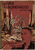 Books:Horror & Supernatural, [Arkham House]. H. P. Lovecraft & Divers Hands. The Dark Brotherhood and Other Pieces. Sauk City, UT: Arkham House, ...