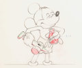 Animation Art:Color Model, Society Dog Show Mickey Mouse Color Model Drawing (WaltDisney, 1940)....