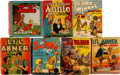 Big Little Book:Miscellaneous, Big Little Book Comic-Related Group of 7 (Whitman, 1930s)....(Total: 7 Comic Books)