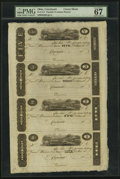 Obsoletes By State:Ohio, Cincinnati, OH- (John H. Piatt & Co.) $5-$3-$2-$1 Wolka0653-04-03-02-01 Uncut Sheet and shipping materials. ... (Total: 3items)