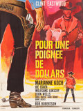 "Movie Posters:Western, A Fistful of Dollars (PEA, 1966). Full-Bleed French Grande (46"" X 61"").. ..."