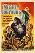 """Movie Posters:Horror, Mighty Joe Young (RKO, 1949). Autographed One Sheet (27"""" X 41"""")Style C.. ..."""