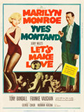 """Movie Posters:Comedy, Let's Make Love (20th Century Fox, 1960). MP Graded Poster (30"""" X40"""").. ..."""