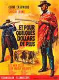 "Movie Posters:Western, For a Few Dollars More (United Artists, 1966). French Grande (46"" X62"").. ..."