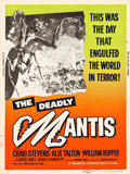 """Movie Posters:Science Fiction, The Deadly Mantis (Universal International, 1957). MP Graded Poster(30"""" X 40"""").. ..."""