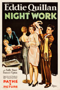 """Movie Posters:Comedy, Night Work (Pathe Exchange, 1930). One Sheet (27"""" X 41"""").. ..."""