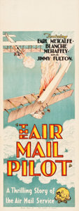 "Movie Posters:Action, The Air Mail Pilot (General Film Distributors, 1928). Pre-WarAustralian Daybill (15"" X 40"").. ..."