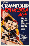 "Movie Posters:Drama, This Modern Age (MGM, 1931). Australian One Sheet (27"" X 40"").. ..."