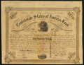 Confederate Notes:Group Lots, Ball 234 Cr. UNL $500 Bond 1863 Fine.. ...