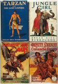 Books:Science Fiction & Fantasy, Edgar Rice Burroughs. Group of Four First Edition Titles. VariousPublishers, [1929 - 1941].... (Total: 4 Items)