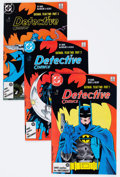 Modern Age (1980-Present):Superhero, Detective Comics Box Lot (DC, 1982-91) Condition: Average VF....
