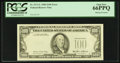 Error Notes:Missing Third Printing, Fr. 2171-L $100 1985 Federal Reserve Note. PCGS Gem New 66PPQ.. ...