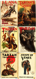 Books:Science Fiction & Fantasy, Edgar Rice Burroughs. Group of Six First Edition Titles. Tarzana:Edgar Rice Burroughs, Inc., 1932 - 1948.... (Total: 6 Items)