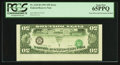 Error Notes:Inverted Third Printings, Fr. 2125-B $50 1993 Federal Reserve Note. PCGS Gem New 65PPQ.. ...