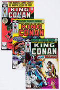 Modern Age (1980-Present):Science Fiction, King Conan #1-14 Box Lot (Marvel, 1980-83) Condition: AverageVF/NM....