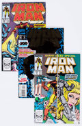 Modern Age (1980-Present):Superhero, Iron Man #244-311 Near-Complete Run Box Lot (Marvel, 1990s)Condition: Average FN.... (Total: 2 Box Lots)