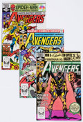 Modern Age (1980-Present):Superhero, The Avengers #212-217 Box Lot (Marvel, 1981-82) Condition: AverageVF/NM.... (Total: 2 Box Lots)