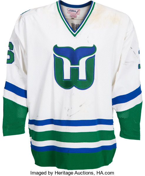 1979-80 Bobby Hull Game Worn Hartford Whalers Jersey--Likely  bfd6f520596