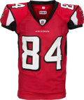 Football Collectibles:Uniforms, 2010 Roddy White Game Used Atlanta Falcons Jersey....
