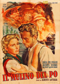 """Movie Posters:Foreign, The Mill on the Po (Lux Film, 1949). Italian 2 - Fogli (39"""" X 55""""). Foreign.. ..."""