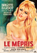 "Movie Posters:Foreign, Le Mepris (Cocinor, 1963). French Grande (44"" X 62"") Gilbert AllardArtwork.. ..."