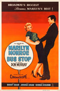 "Movie Posters:Drama, Bus Stop (20th Century Fox, 1956). MP Graded Poster (40"" X 60"")Style Z.. ..."